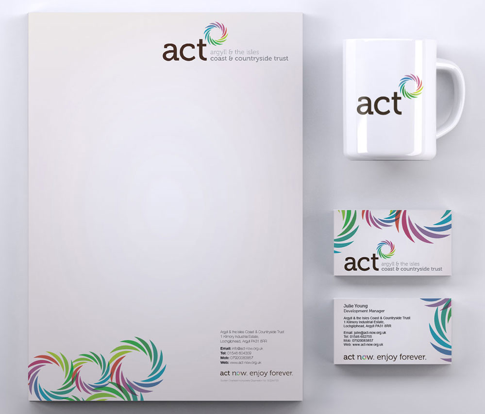act now stationery
